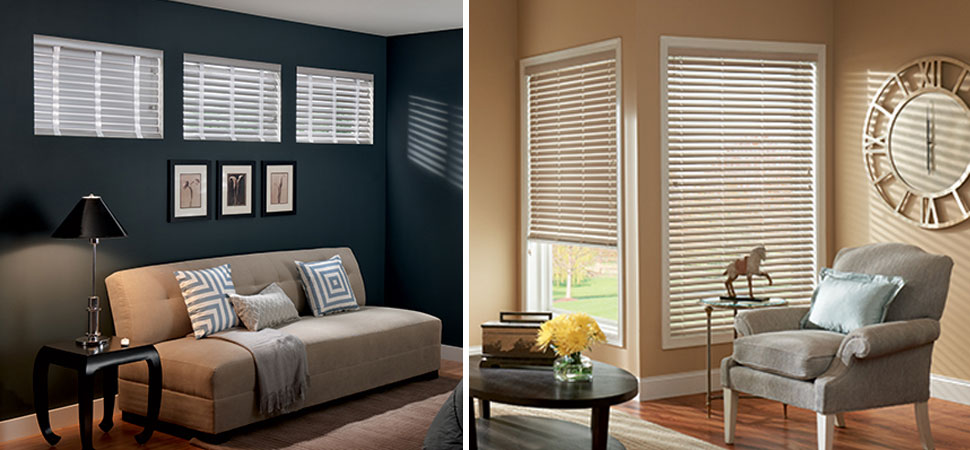 "2"" Horizontal Blinds Vinyl Venetian Blinds small window blinds living room vinyl blinds corner window blinds"