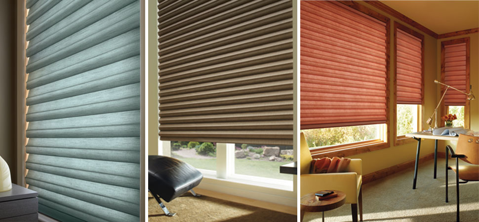 Fabric Blinds And Shades : Cellular shades i pleated honeycomb