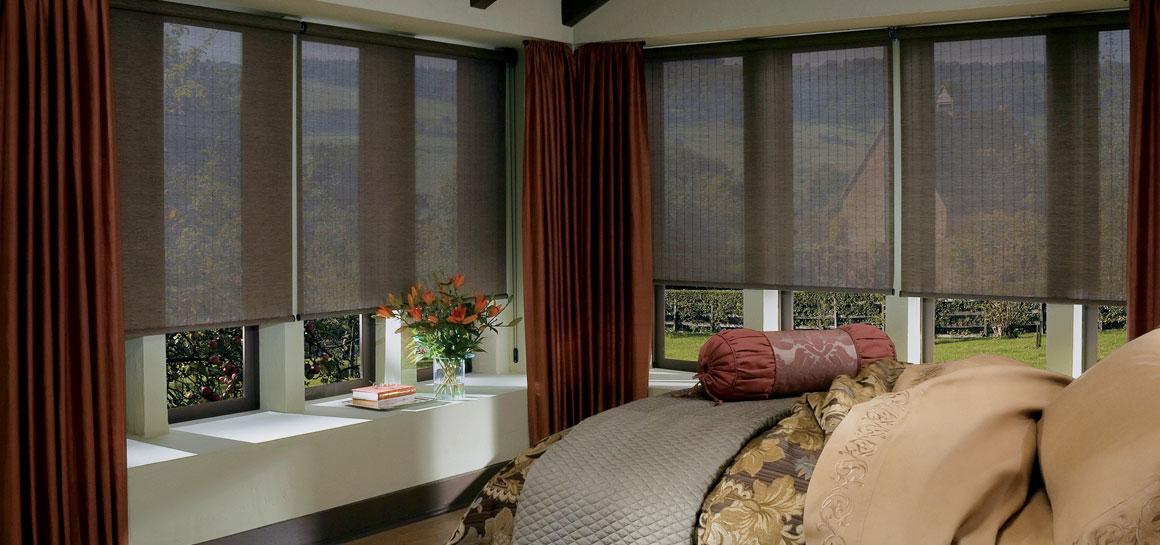 Exterior: Solar Shades I Patio Sun Shades I Outdoor Curtains