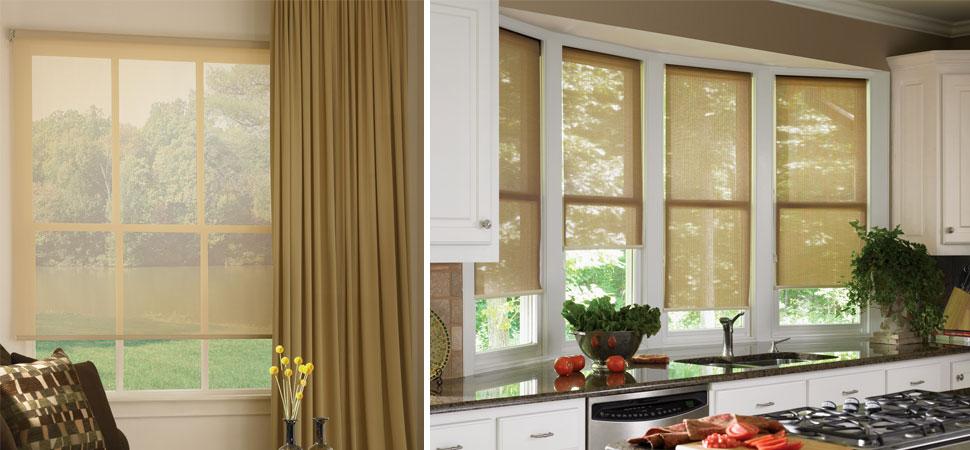Solar Shades I Patio Sun Shades I Outdoor Curtains Windows Dressed Up