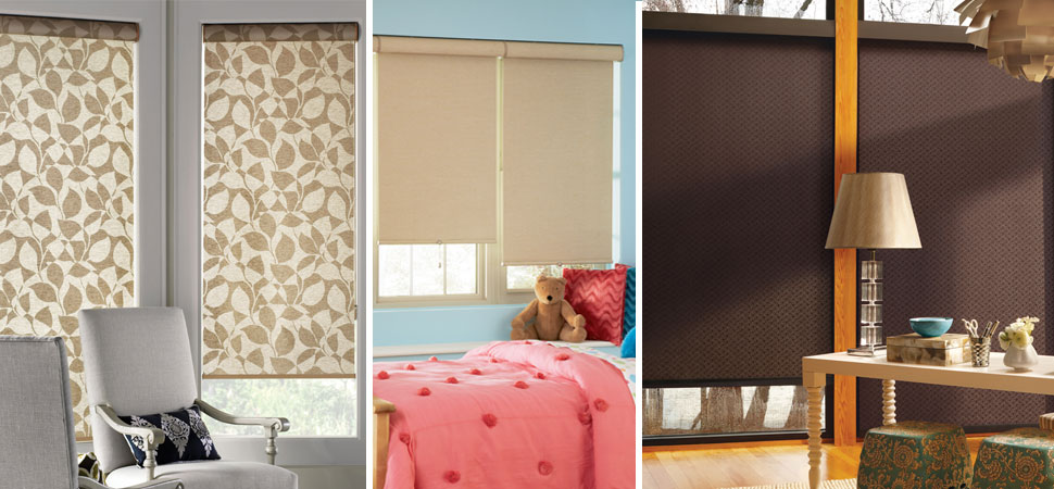 Custom Roller Blinds I Blackout Roller Shades Windows