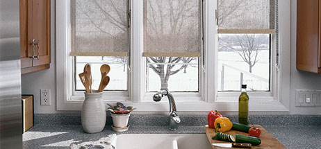 Home Decorating ideas Kitchen Window Treatments Ideas Curtains valances blinds shades