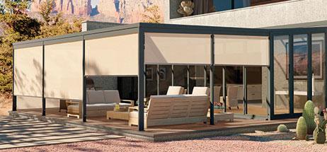 Patio Ideas I Outdoor Curtains I Solar Shades -