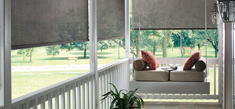 Outdoor Shades for Windows - Patio Ideas I Outdoor Curtains I Solar Shades -