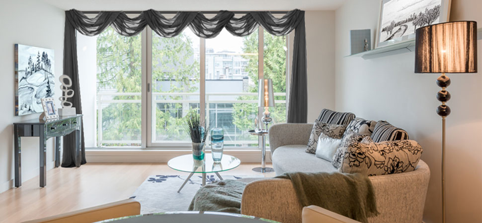 Bay Window Curtains Kitchen Valance Ideas